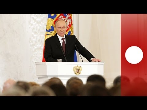 Full video: Putin's address on Crimea joining Russia, signing ceremony