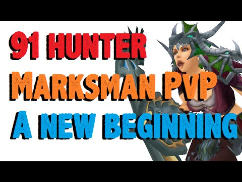 Aquilliah - Level 91 Marksmanship Hunter Twink Pvp - Wod Patch 6.0.3 video