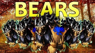Warcraft 3 - Druid of the BEARS | Grubby (Undead) vs Starshaped (Night Elf) | The Vegan Gamers