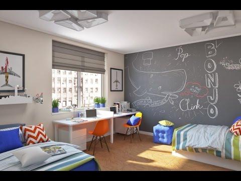 Детская комната для двух мальчиков – три варианта интерьера