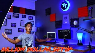 MY BILLION DOLLAR ALEXA ENABLED YOUTUBE SETUP/ROOM TOUR | ALEXA KA JAADU | MacBook Air [India/Hindi]