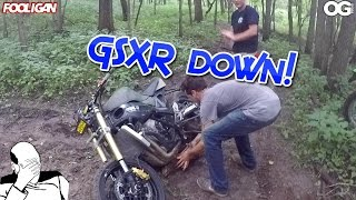 Top of the World | Sport Bike Off-Road Fail