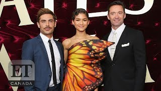 Zac Efron & Zendaya Get Physical For The Greatest Showman