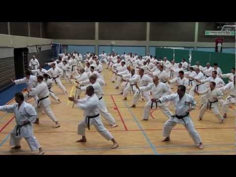 JKA Karate Stage Gasshuku in Belgium 2013