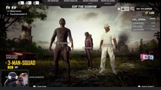 Squad action on Players Unknown's Battleground