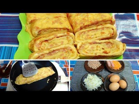 Resep & Cara Membuat Telur Dadar Gulung Korea/Gyeran Mari