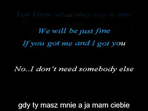Akcent - Let's Talk About It Karaoke HQ Polskie Napisy