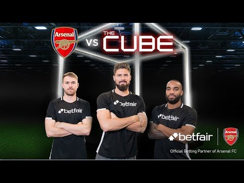 Giroud, Lacazette & Ramsey vs The Cube: Full episode