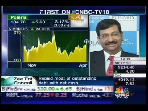 Arun Jain and Govind Singhal Talks to CNBC TV on Q4 results.wmv