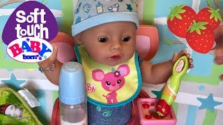 Baby Born Soft Touch Baby feeding and changing Zapf Creations