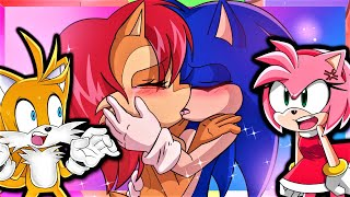Tails and Amy Play Macro Sonic Dating Sim