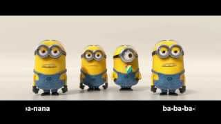 Já padouch 2 | Minions - Banana song | 10 min. + text