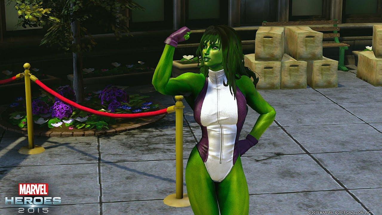 Marvel Heroes 2015 – She-Hulk Trailer - YouTube
