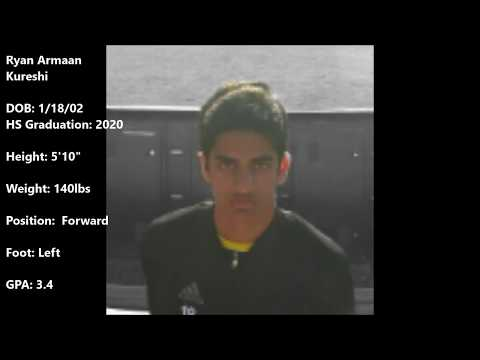 Ryan Armaan Kureshi Soccer Highlight Reel