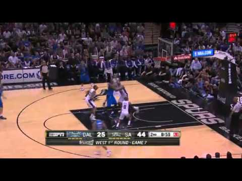 NBA Playoffs 2014 - Dallas Mavericks vs San Antonio Spurs Game 7 Highlights |  5/4/14