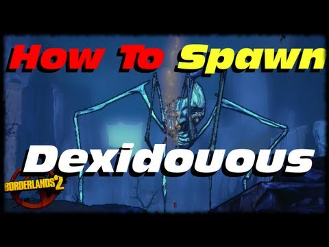 Borderlands 2 How To Spawn Dexiduous! Eridium Totum Furnace Locations In Sir Hammerlock's DLC!