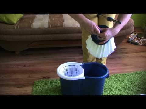 Mop Obrotowy z Biedronki (Spinning Mop)