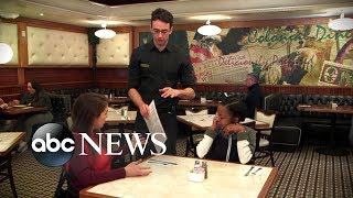 Diners are upset over OCD waiter | What Would You Do? | WWYD