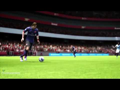 Fifa 13: Arsenal\'s New Away Kit [hd]