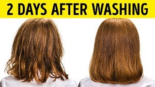 9 Ways to StopWashing Your Hair Everyday