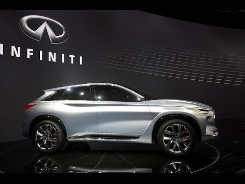 2016 Infiniti QX Sport Inspiration at Beijing Auto Show 2016
