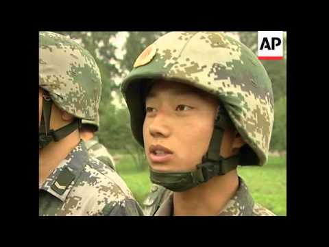 China allows rare access to People's Liberation Army training