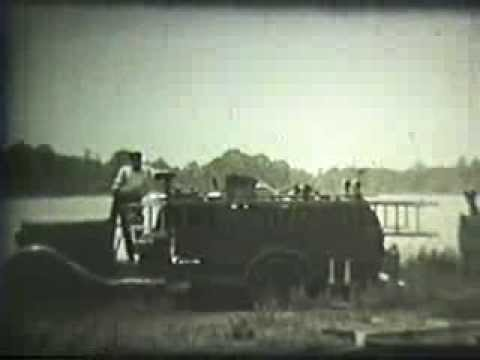 Rockaway Beach Volunteer Fire Dept. Training 1940s