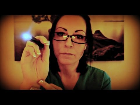 ASMR [HD] ★Cranial Nerve Examination: Role Play★ Soft Spoken [REQUEST]