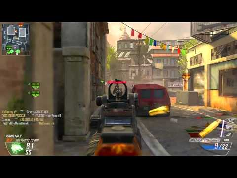 Black Ops 2: Swat-556 Gameplay 74 Kills 6v6
