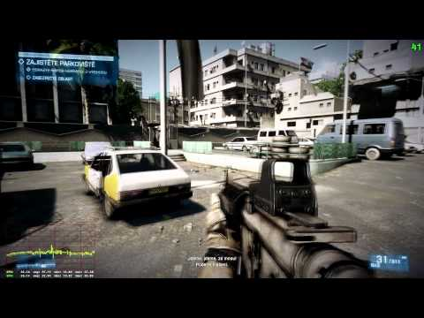 Battlefield 3 DX11 MAXED OUT - i7-2600K @4300MHz, NVIDIA GeForce GTX 570