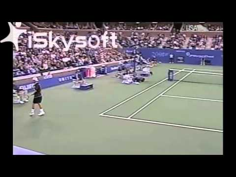 US Open 2001 QF: Roddick vs. Hewitt (1/2)