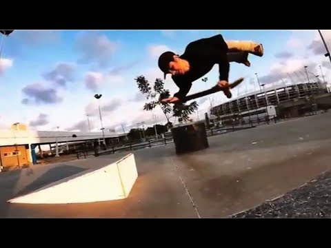 INSTABLAST! - AMAZING Skateboarding ARMS ONLY!! 12ft Drop Heelflip Indy!! Xtreme Fisheye DESTROYED!!