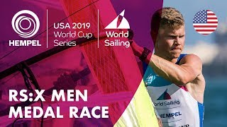 RS:X Men Medal Race | Hempel World Cup Series: Miami, USA
