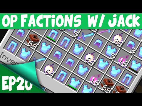 Minecraft OP Factions Server EP20 w Jack RICHEST VAULT EVER INSANE LOOT