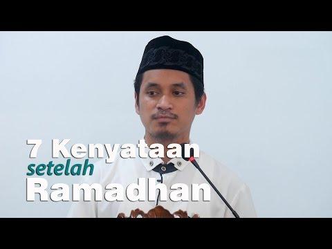 Khutbah Jum'at : 7 Kenyataan Setelah Ramadhan