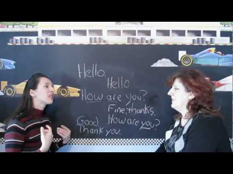 Lesson 1 - Learn English With Jennifer - Greetings video