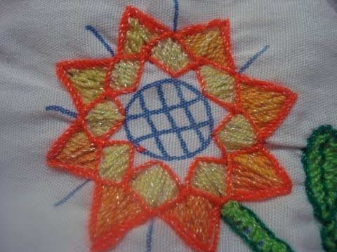Bordado Fantasía Flor Estrella