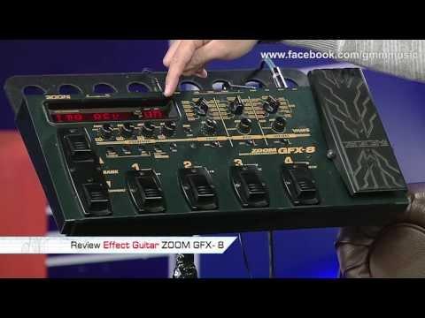 MUSIC GURU : VJ เต๊ป Review Effect Guitar ZOOM GFX-8