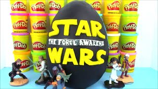 Star Wars The Force Awakens Giant Play Doh Surprise Egg