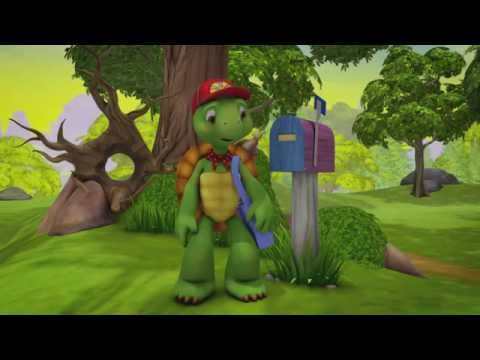Franklin and Friends - Franklin the Post-Turtle / Franklin's Wild Paper Chase