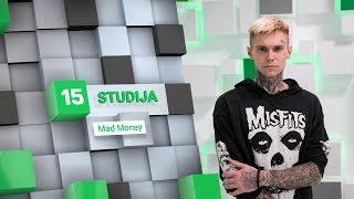15min studijoje – reperis Mad Money