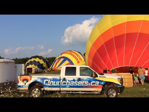 Annual BYOB (Bring Your Own Balloon) Sun Aug 3, 2014 - PM Flight - 3rd of 4 videos