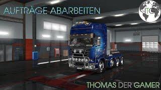 [ETS 2] Thomas on Tour für die Spedition | Thomas der Gamer | Live