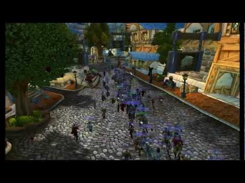 Athene 's army Fun in Stormwind