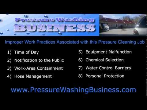 How To Start a Pressure Washing Business - Make Money Pressure Cleaning a Restaurant