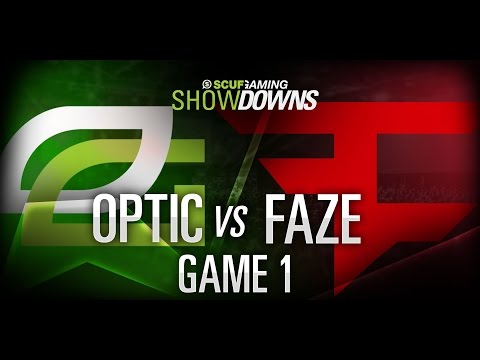 Scuf Gaming Showdowns Optic Gaming vs Faze Game 1 August 7th 2014