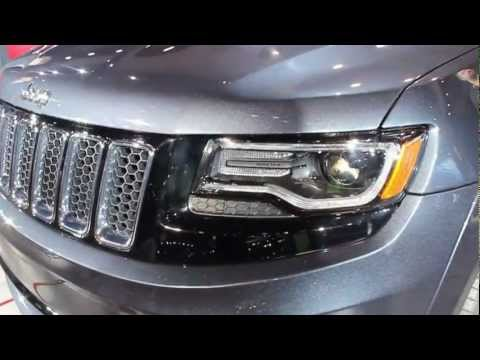 2014 Jeep Grand Cherokee SRT - First Look - The Driver