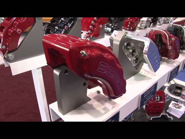 SSBC Brakes slim fit new V8 8 Piston Calipers - SEMA 2011