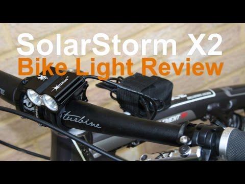 Solarstorm X2 bike light review