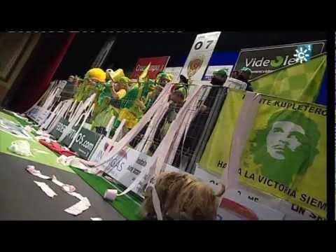 Chirigota - Los HinchaPelotas \ Actuación Completa SEMIFINALES \ Carnaval 2012